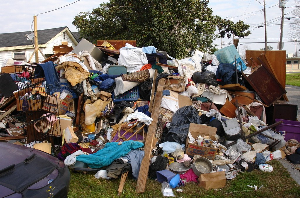 Is spring cleaning a time to call your local junk removers?